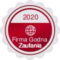 Firma godna zaufania 2020 - EKLO Krzysztof Klonowicz Slownictwo.pl